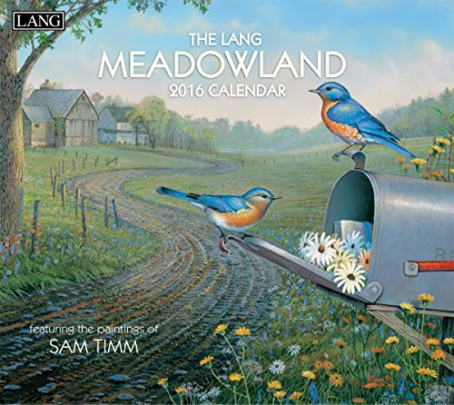 Lang Meadowland 2016 Wall Calendar by Sam Timm, January 2016 to December 2016, 13.375 x 24 Inches (1001931)