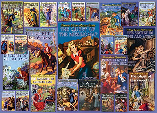 Vintage Nancy Drew Puzzle 1000 Piece