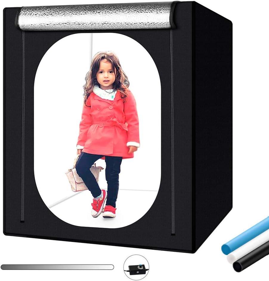 HWENJ Photo Studio Tent Photography Studio Kit,Folding Small Product Photography Kit ,Photography kit,Photo Shooting Tents , for Small Item Photography