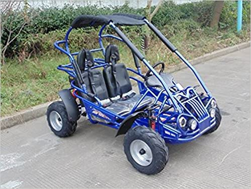 TrailMaster 150 XRS Kart Blue