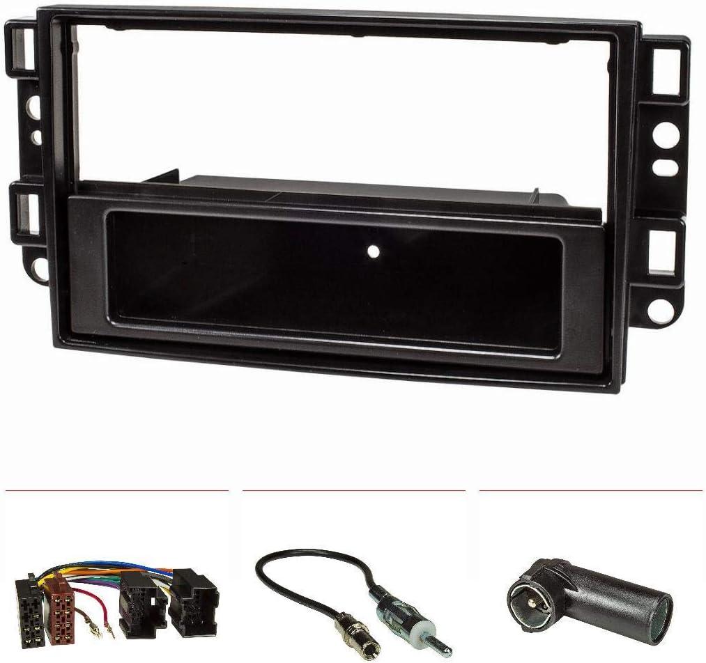 Radioset volante adaptadores DIN autoradio Chevrolet Aveo Captiva 2006-2011
