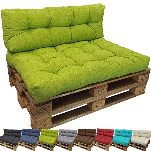 PROHEIM PACK Tino Lounge Euro-pallets Cushions from for Indoors and