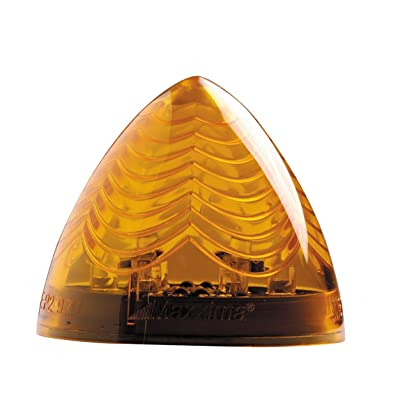 """Maxxima M34600Y 6 LED Amber 2"""" LED Beehive Clearance Marker Light: Automotive"""