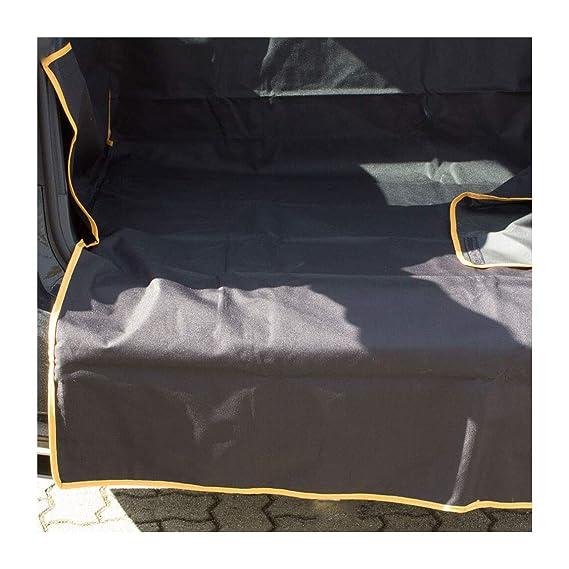 Rinderohr/® Kofferraumschutz mit Seitenschutz und Ladekantenschutz Premium Hund