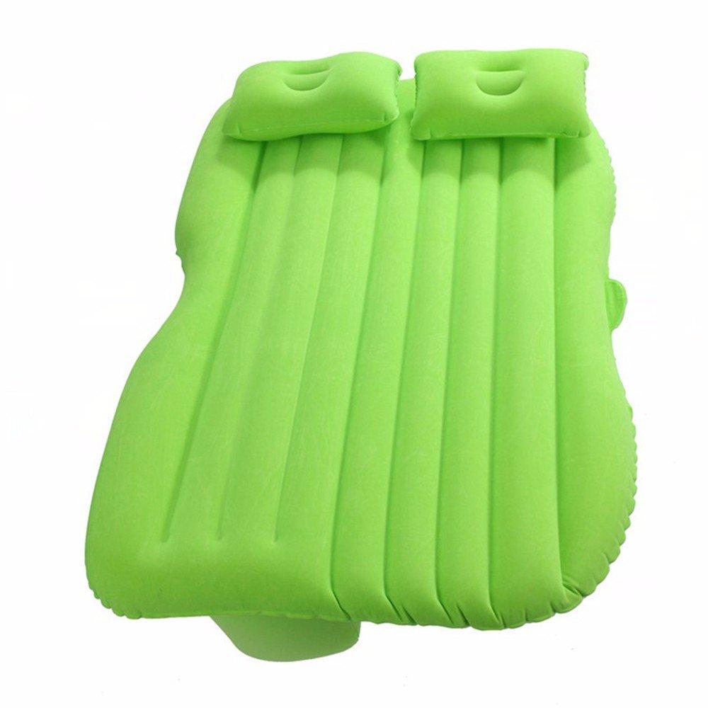 Auto aufblasbare Bett / Kinder faltende Reise Schlafkissen / Auto schlafende Pad / Auto liefert / Auto Vibration Matratze, TPU-grün