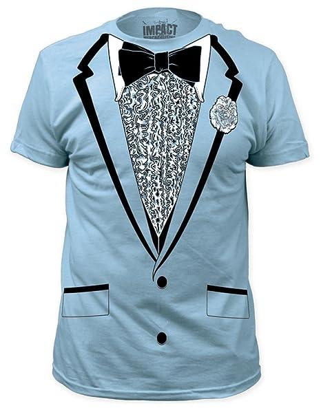 Amazon.com: Impact Original Retro Prom Tuxedo Light Blue T-Shirt,2XL ...