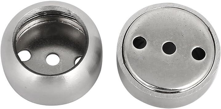1 pair 2 pcs 11690 Round Wardrobe Cabinet Rail End Support