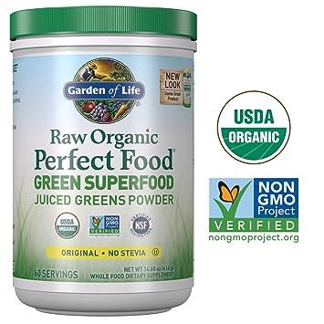 Amazon.com: Garden of Life - Polvo orgánico crudo perfecto ...