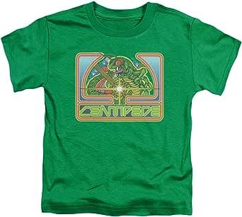 Atari Centipede Green Unisex Toddler T Shirt for Boys and Girls