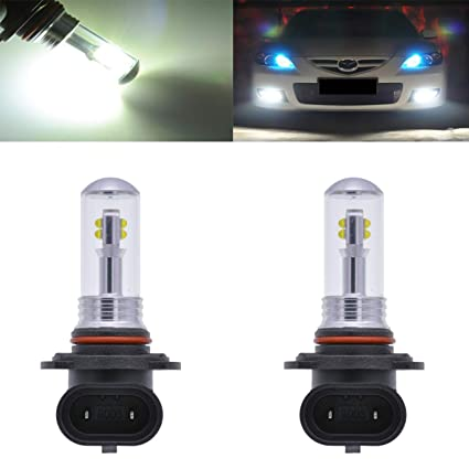 S&d Hb3 Led Chip 9005 Driving Lamp 6 Led Car Fog Head Bulb Auto Hb3 Led Parking Signal Reverse Tail Lights Car Light Source Car Headlight Bulbs(led) Automobiles & Motorcycles