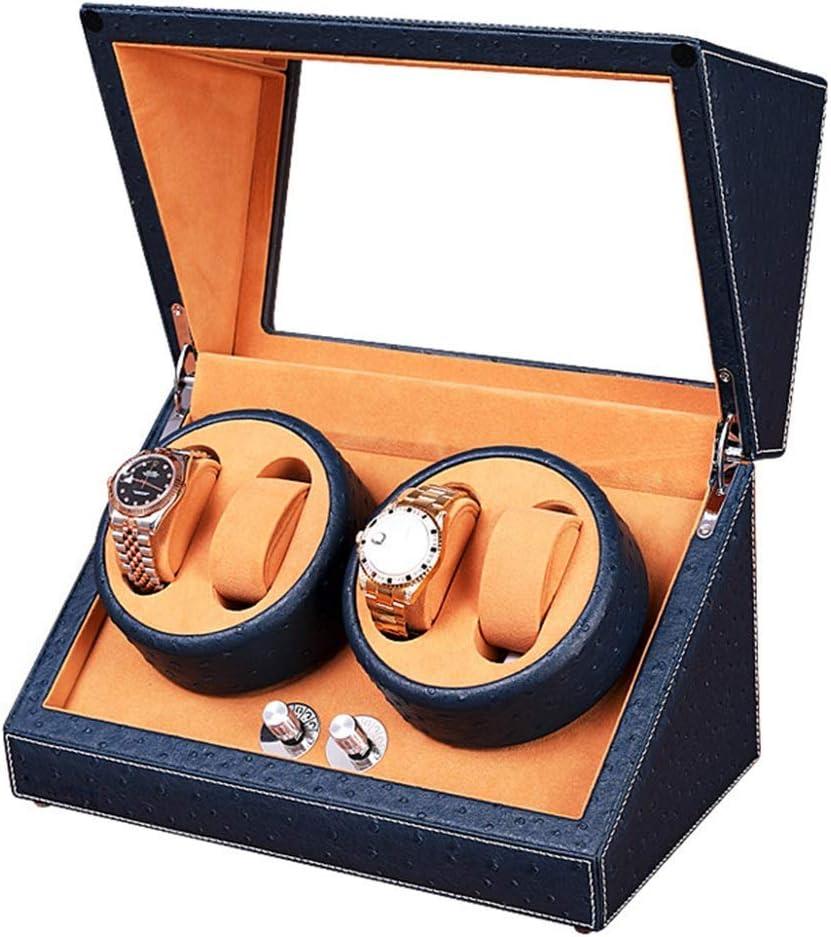 N/B Mira el enrollador Mira Las Cajas del enrollador 4 + 0 Caja de Motor de bobinado automático de Doble Cabezal Caja agitadora de Alto Grado Caja de Motor Ultra silenciosa Caja de Reloj Reloj