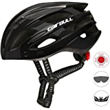 Qiyun Road Mountain Bike Riding Helmets with Light Men and Women Outdoor Cycling Accessories