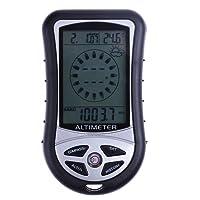 Everpert 8en 1Electronic Handheld Boussole altimètre Baromètre Thermomètre prévisions météo temps