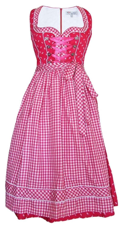 Lekra Dirndl Katharina - Pink 70cm - Zauberhaftes Oktoberfest Kleid für Damen