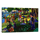 Museum quality Sunday Afternoon on the Island of La Grande Jatte 2 (After Georges-Pierre Seurat) By Ginger Canvas Print. Out of passion for art, iCanvas handcrafts the highest quality giclee art prints, using only premium materials. The art piece com...