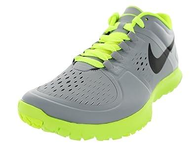 online store 6b971 f7340 ... best price nike mens fs lite trainer wolf grey mtlc dark grey volt  training shoe 9