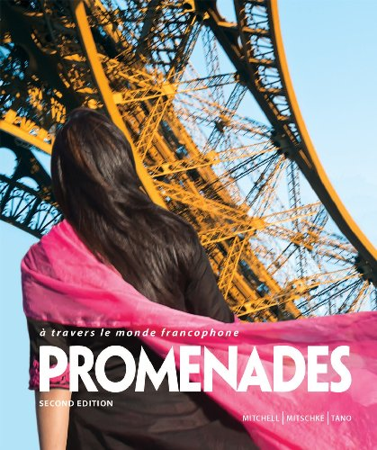 Promenades Student Edition, Supersite code Workbook/Video Manual, Lab Manual and Answer Key