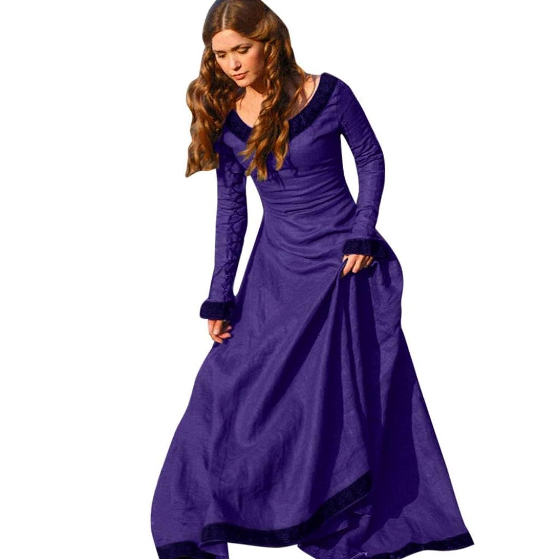 Mujer Vestido Gótico, VENMO Mujeres Vintage Vestido Medieval Traje ...