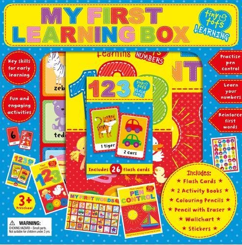 Read Online My First Learning Pack (Tiny Tots Back to School B/Set) pdf