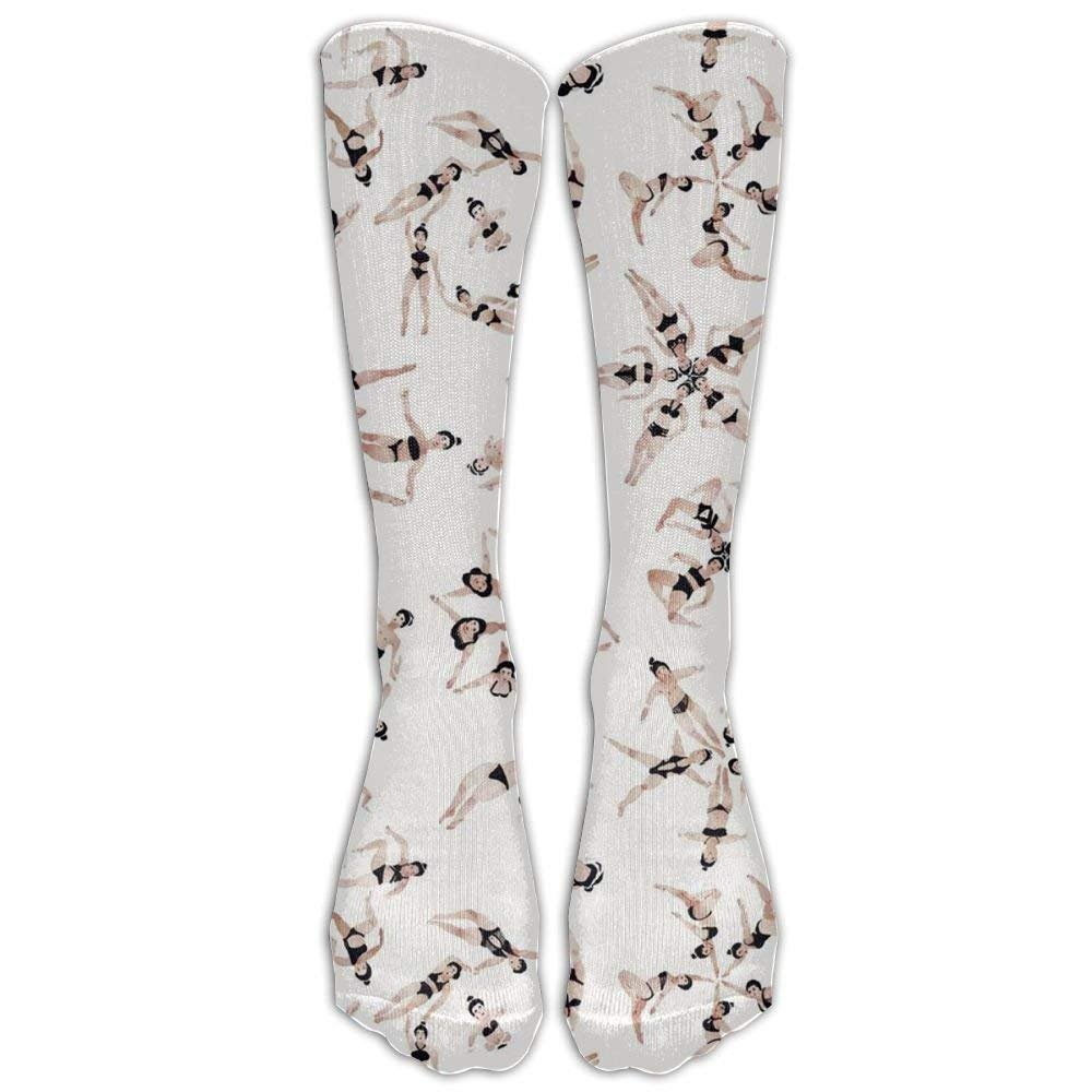 Synchronized Swimming Compression Socks Comfortable Breathable And Stylish Calf Socks Athletic Long Socks Large beach pants
