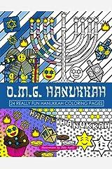 OMG Hanukkah Coloring Book: 24 Really Fun Coloring Pages Paperback