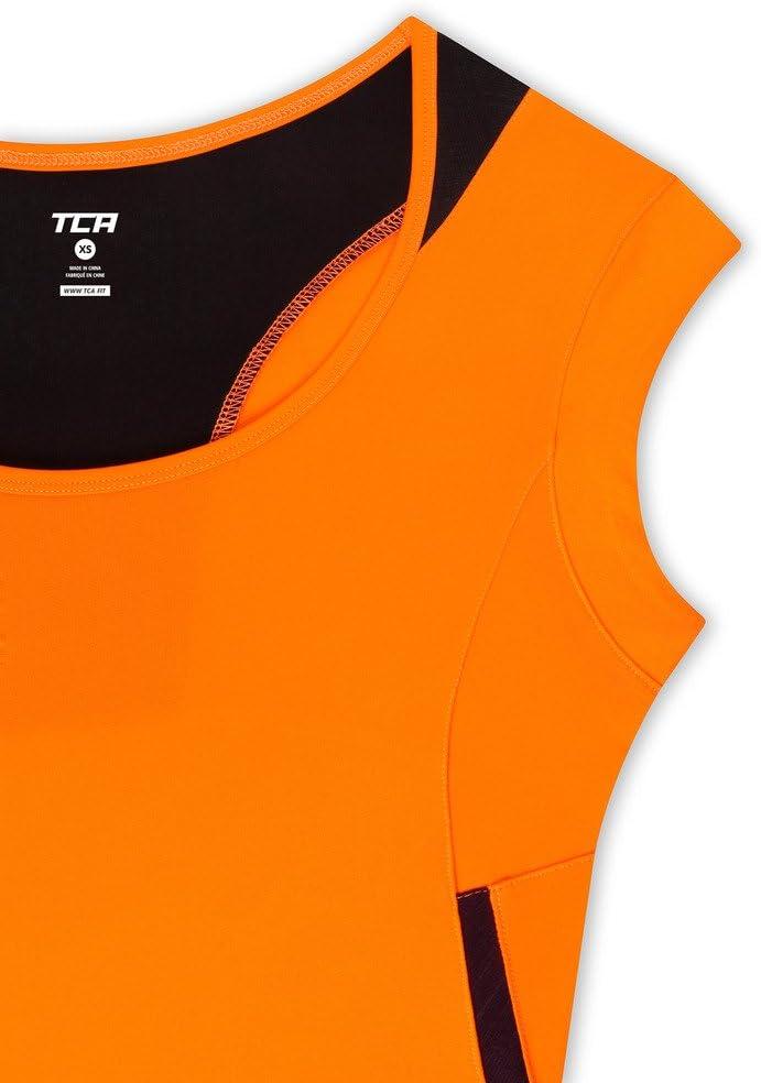 TCA Women/'s Tech Lightweight Cap Sleeve Running Top