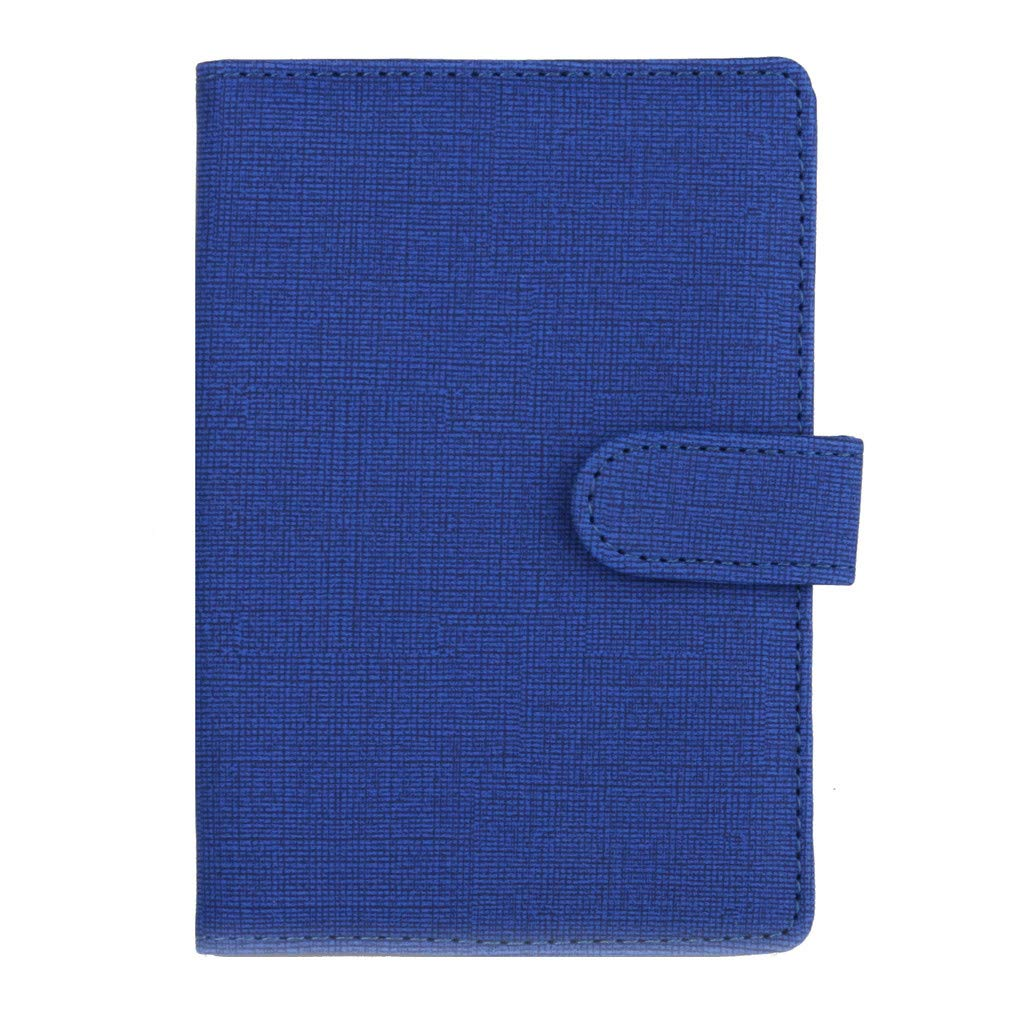 Islandse Dedicated Nice Travel Passport ID Card Cover Holder Case Protector Organizer (Blue)