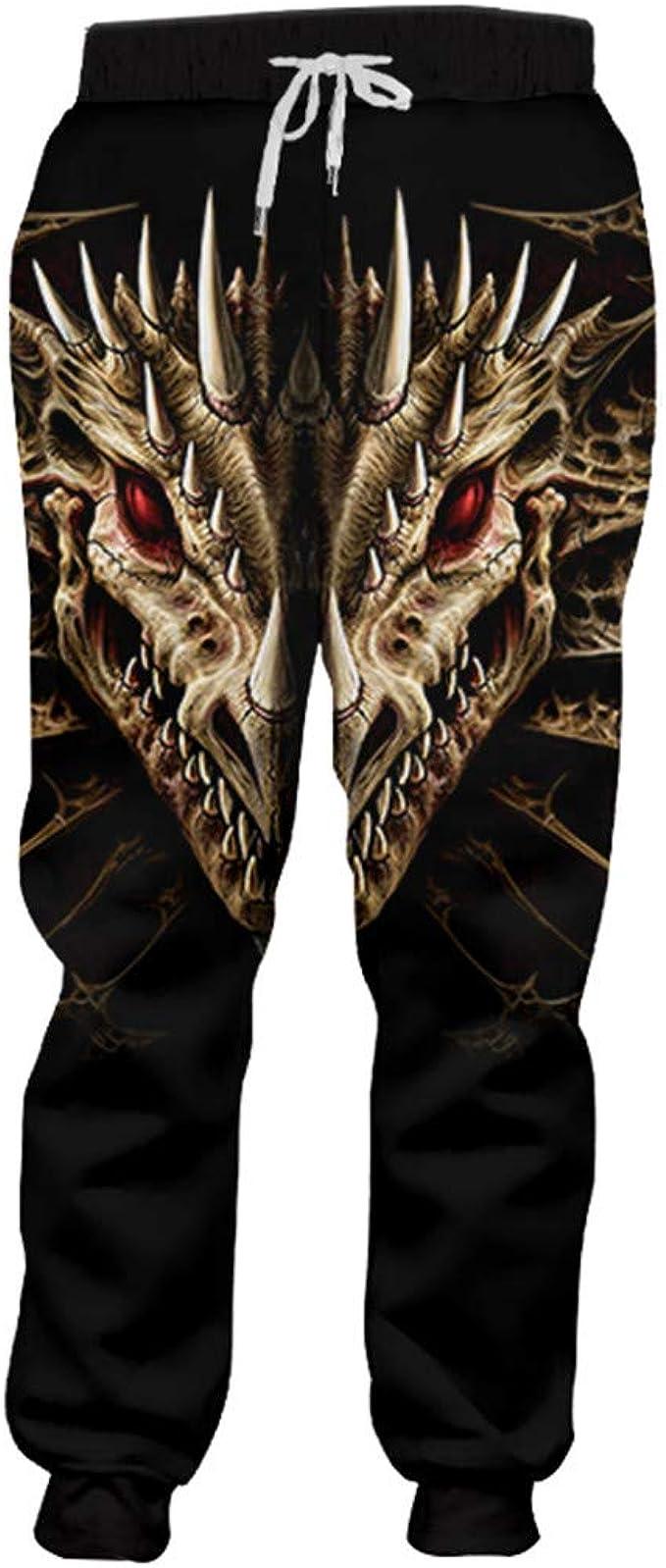 Pantalones de chándal Ocasionales de los Hombres Imprimir ...