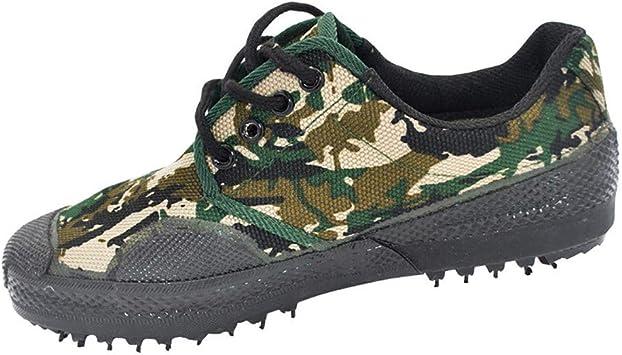 LZLHYH Zapatillas Bajas Clásicas Zapatos Casuales Sitio Web De Escalada Al Aire Libre para Hombres, Zapatos De Entrenamiento De Plataforma De Goma De Camuflaje Forestal, Ropa De Camuflaje: Amazon.es: Deportes y aire