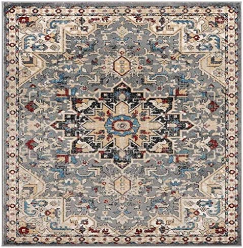 Luxe Weavers Howell Collection Gray Oriental 5×7 Area Rug 2527