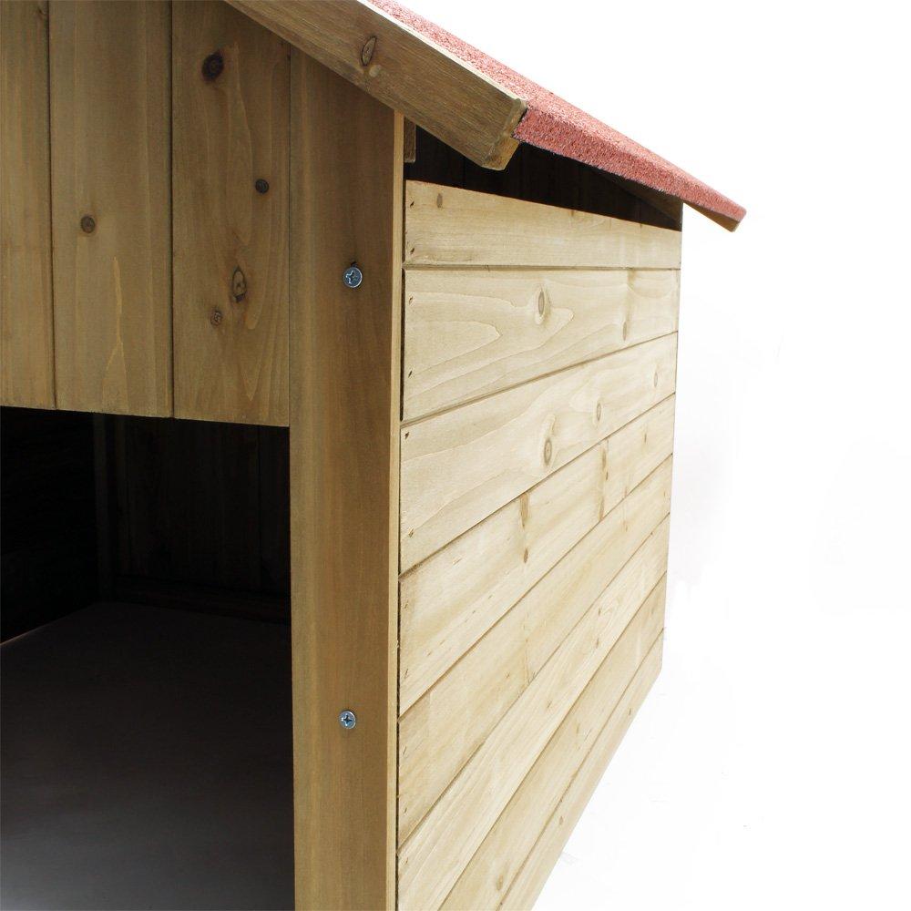 Caseta garaje de madera para robots cortacéspedes segadoras automower: Amazon.es: Hogar