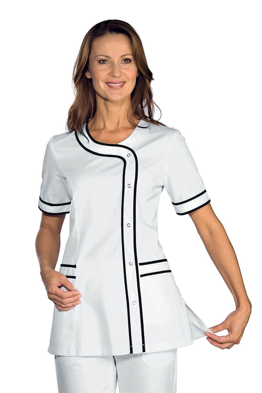 WWOO Camice da Laboratorio Uomo Bianco Abbigliamento da Lavoro e Divise Camice Medico Uomo Aggiornamento del Tessuto