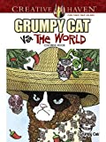 Creative Haven Grumpy Cat Vs. The World Coloring Book (Adult Coloring)