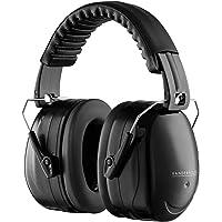 VDF - Foldable Hearing Protection Earmuffs Ear Defenders - DIY Shooting - Black