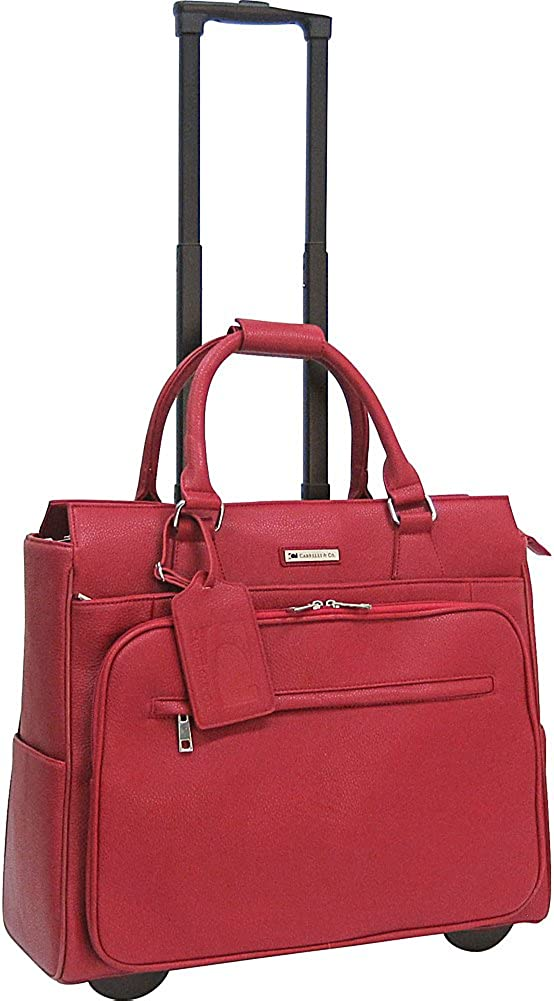 Cabrelli Co. Fashion Executives Piper Pebble 15 Rolling Briefcase