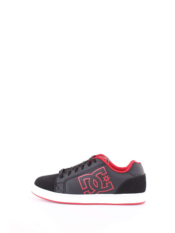 DC Hombres Calzado/Zapatillas de Deporte Serial Graffik 45 EU|Negros