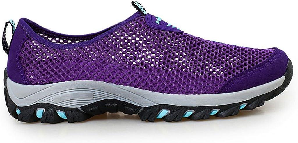 Zapatillas De Deporte Hombres Malla Sandalias Transpirable Sin Cordones De Monta/ñismo Running Zapatos del Ocio Peso Ligero Verano