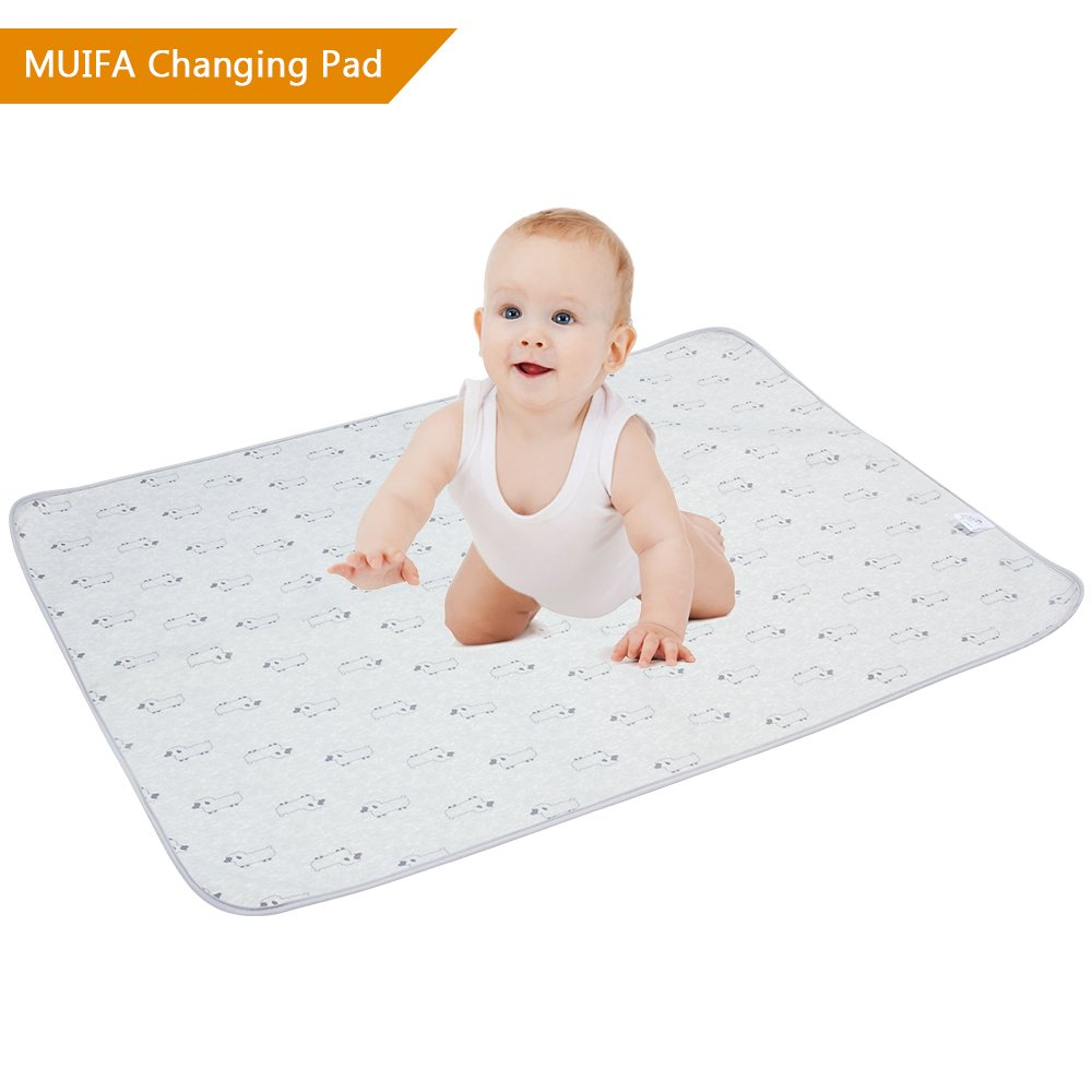 Portable Diaper Changing Pad, 38.5 x 29 Waterproof Change Pad Multi-purpose Travel Changing Mat, Large-size and Reusable (Horses) Beautiful Tech