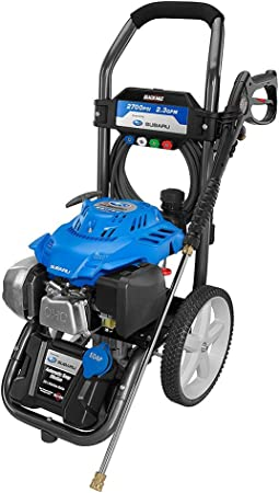 Black Max 2700 PSI Pressure Washer with Subaru Engine