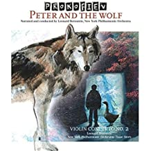 Peter & The Wolf / Violin Concerto 2 (Vinyl)