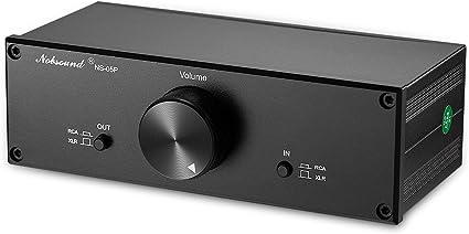 Volume Controller Full Balance JemmyAudio Volume 1 Passive Front