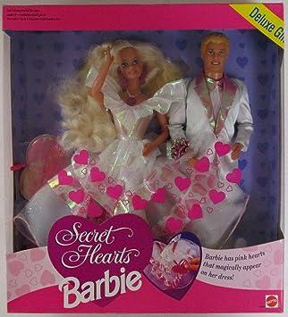 Amazon.es: Mattel Barbie Ken Secret Hearts Deluxe 2 Pack Gift Set ...