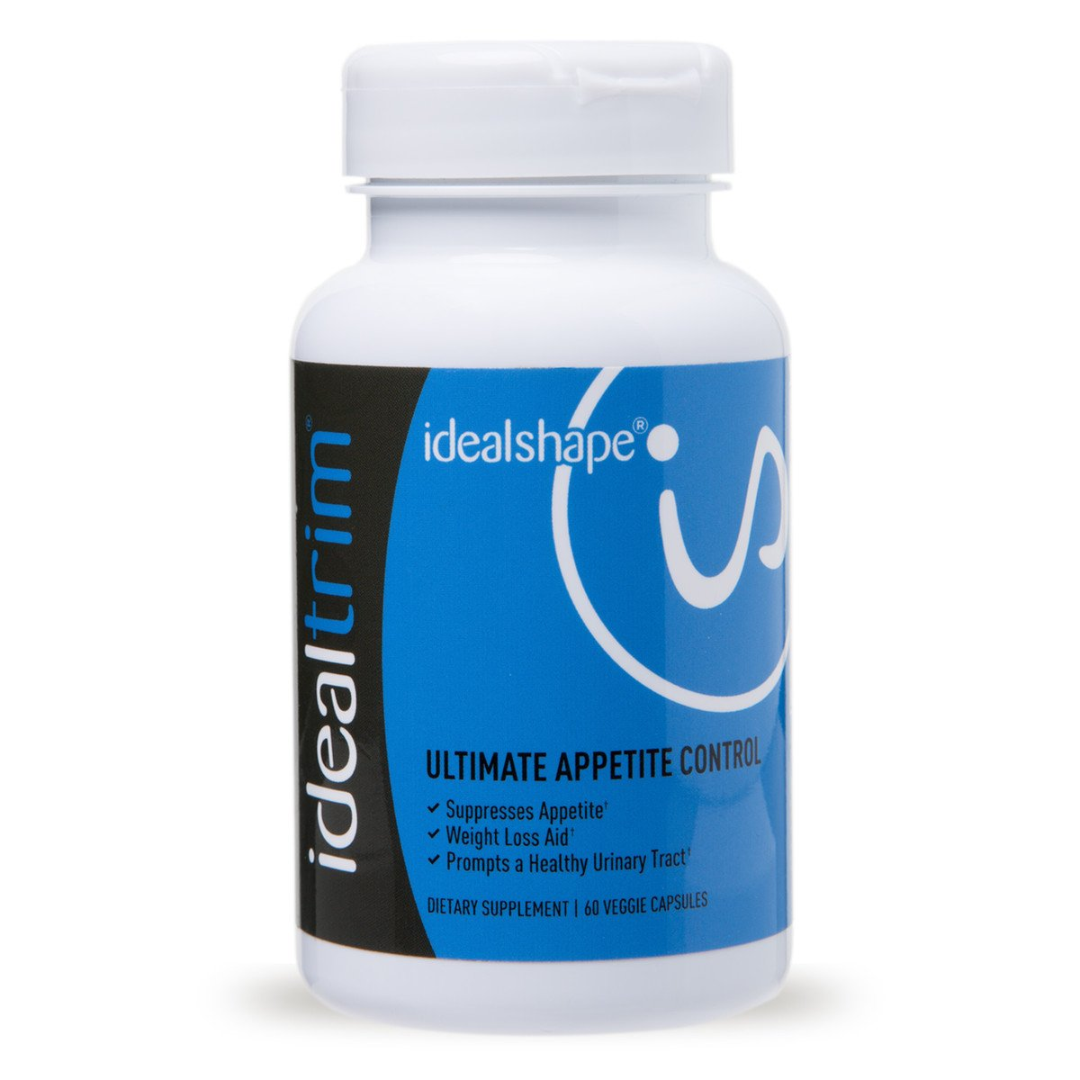 IdealTrim, Appetite Suppressant For Weight Loss - Slendesta and Garcinia Cambogia - Lose Water Weight, Control Hunger and Get More Energy - 30 Servings by IdealShape