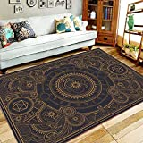 Dungeons & Dragons Rug for Bedroom Non-Slip Gaming
