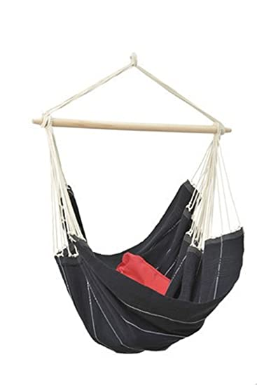 Byer Of Maine Brazil Hanging Hammock Chair, Indoors And Outdoors, Recycled  Cotton/Polyester