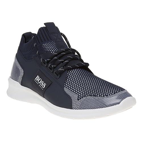 Hugo Boss Extreme_Runn_Knit, Zapatillas Altas para Hombre: Amazon.es: Zapatos y complementos