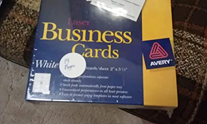 amazon com avery 5911 business card blanks arts crafts sewing