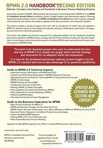 bpmn 20 handbook second edition methods concepts case studies and standards in business process modeling notation bpmn robert shapiro - Bpmn 20 Standard