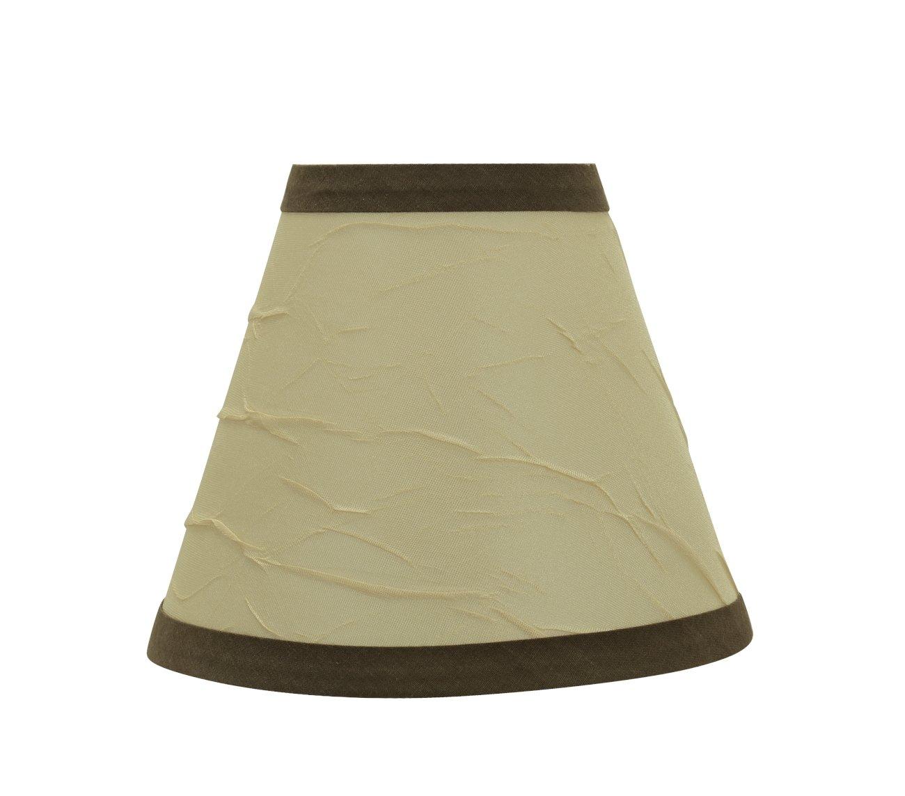 Aspen Creative 32121-2 Small Hardback Empire Shape Transitional Design in 3 X 6 X 5 Chandelier Clip-On Lamp Shade Set 2 Pack Beige 6 Bottom Width