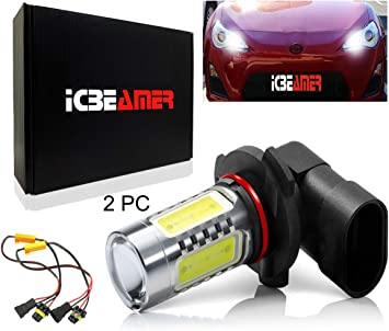 9012+9005 LED Headlight 9006 Fog Lights for RAM 2013-2016 w//Projector Lamps